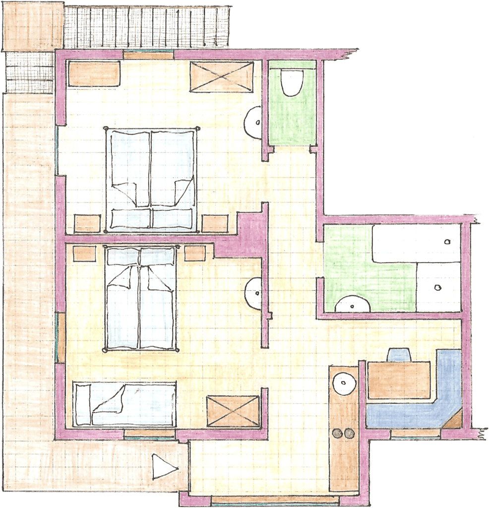Appartement Violetta Ansicht